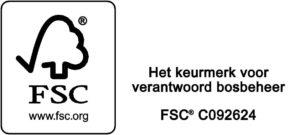 Logo FSC zwwit landscape